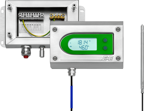 EE300Ex humidity & temperature transmitter with two-part enclosure
