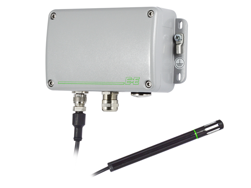 EE100Ex humidity and temperature sensor with remote probe