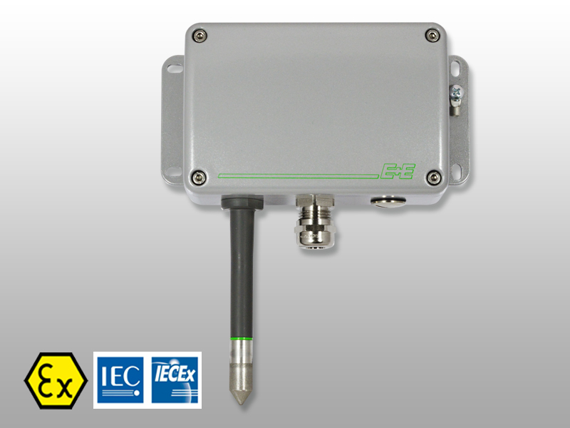 EE100Ex humidity and temperature sensor