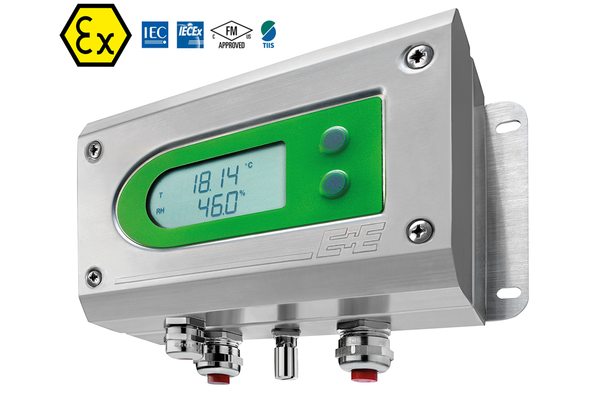 EE300Ex - Intrinsically Safe Humidity & Temperature Transmitter for Hazardous Areas
